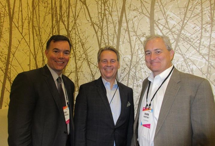 Lendlease SVP Mike Concannon, TOTO USA President of Operations Bill Strang and Allen Matkins partner Mark Hartney