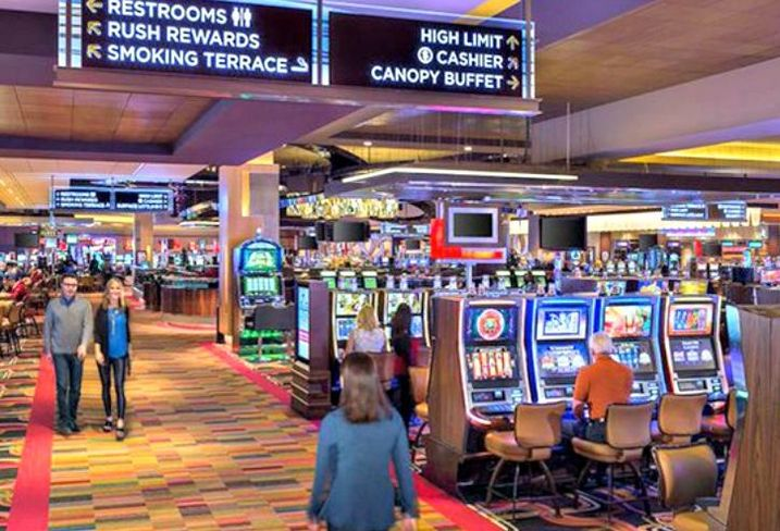 A rendering of Rivers Casino, Des Plaines, IL