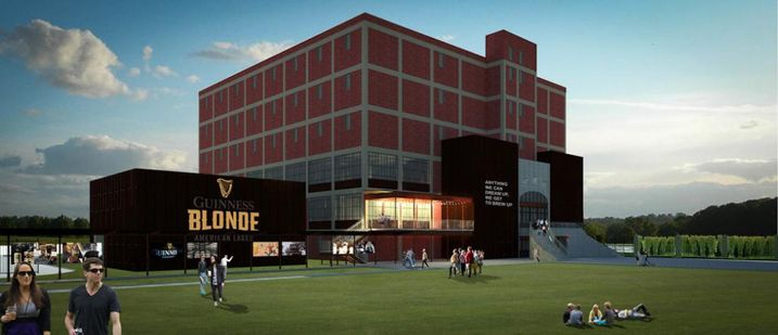 Guinness Opening Brewery in Baltimore County