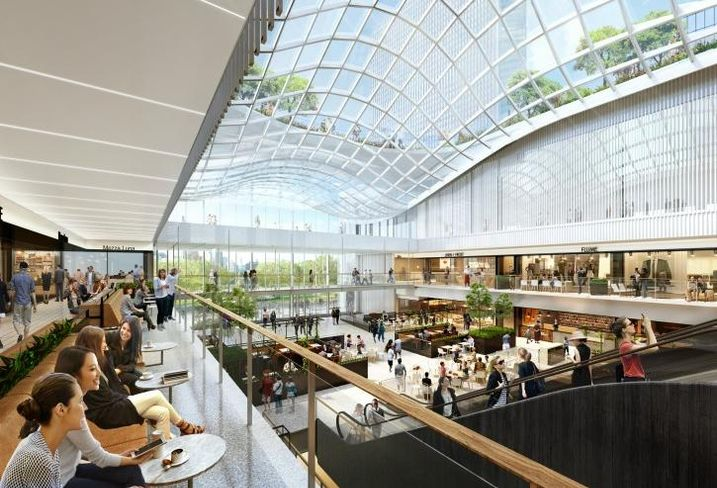A rendering of Willis Tower's upcoming winter garden.