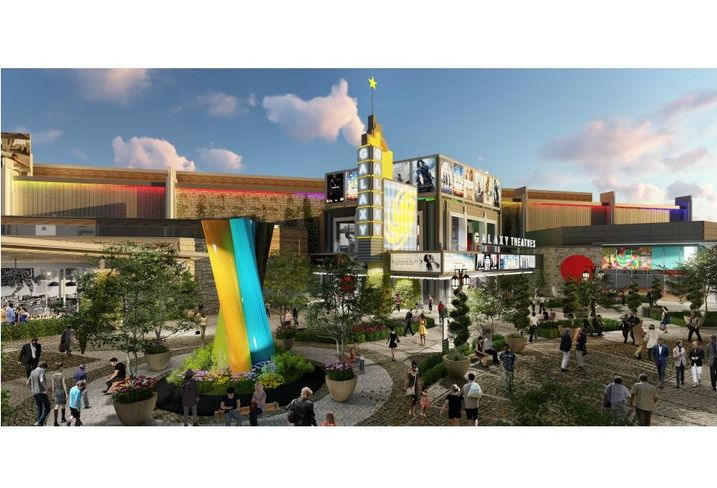 Nebraska Furniture Mart's $1.5B Grandscape has more than a mile fronting SH-121 on its 433 acres. Phase one is well underway (and will include Blue Plate Network's client Truck Yard and Quincy's Chicken Shack) with retail, hotels, restaurants and entertainment. Last month, developers announced that Galaxy Theaters will open an 85l SF, 16-screen theater in 2019
