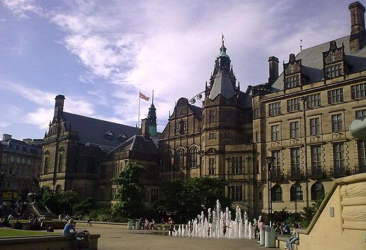 Sheffield Town Hall, England