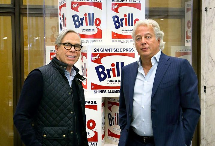 Tommy Hilfiger and RFR Realty CEO Aby Rosen