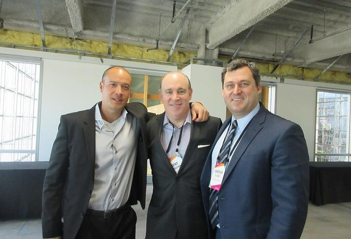 Blackstone Managing Director Chris Graham; Lincoln Property Co SVP Kent Handleman; CBRE Global Investors Director of Acquisitions Gardner Ellner