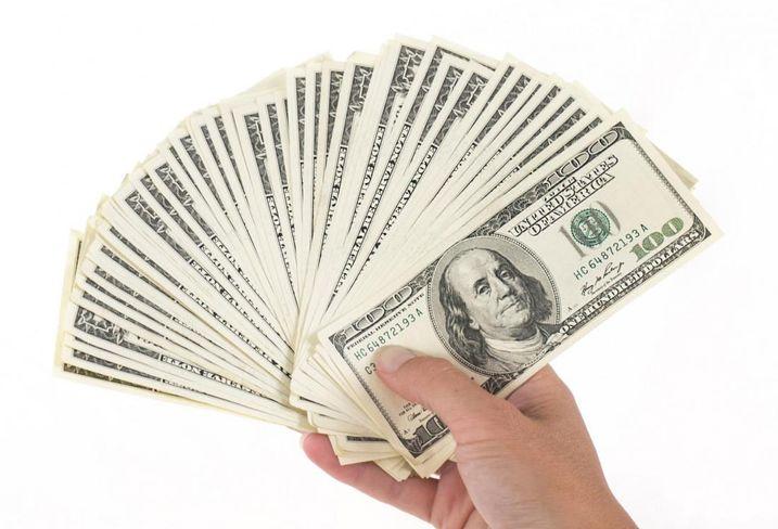Money, dollars, raising money