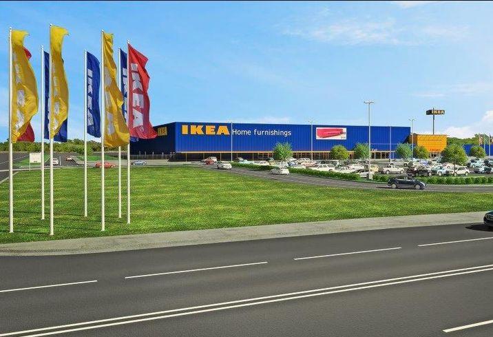 IKEA Fort Worth rendering