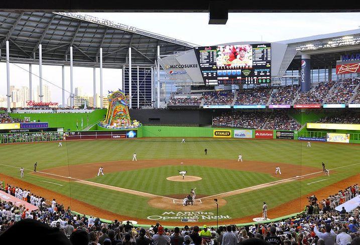 Marlins Park in Miami