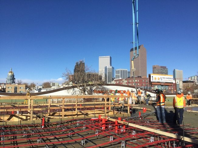 Concrete Poured For Housing Project For Tenants With Special Needs