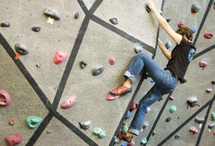 Google Boulder climbing