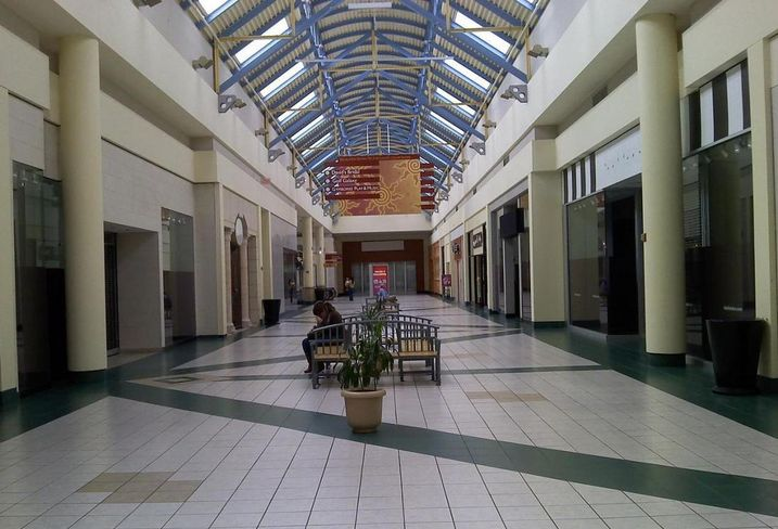 Empty mall, dead mall
