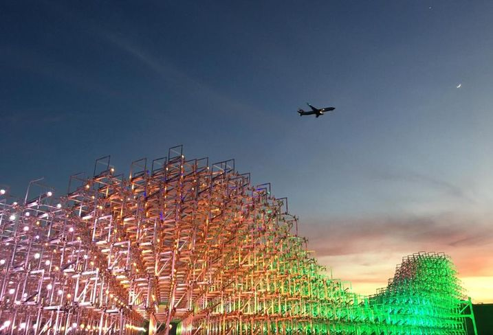 Downtown San Jose Gets More Housing And Colorful Light Sculpture