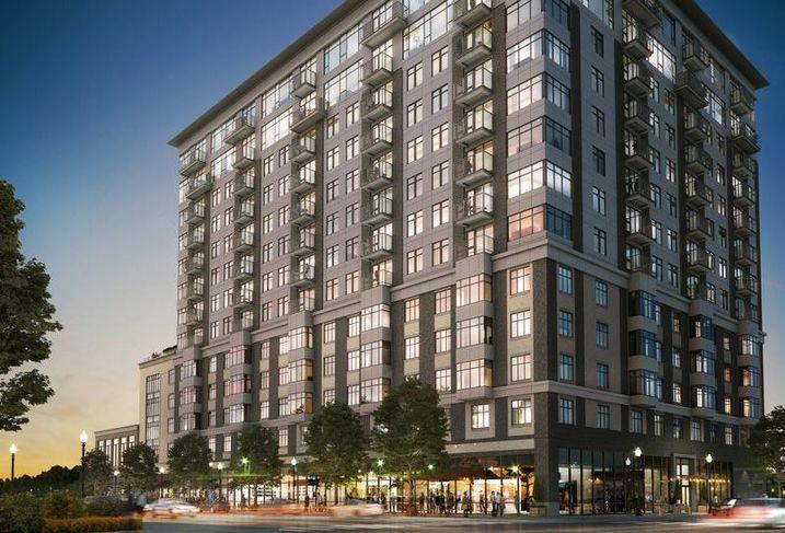 Condominium development Alloy at Somerville's Assembly Square