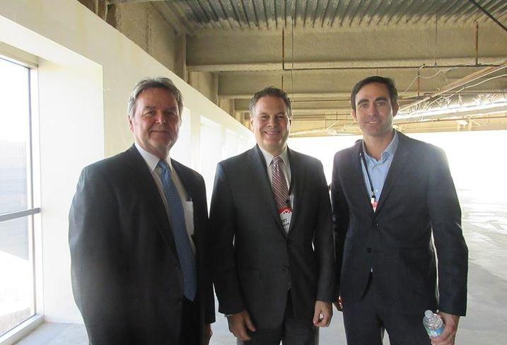 L.A. State of the Market Harley Ellis Devereaux studio leader Mitch Sawasy, Liner LLP partner Jerry Neuman and Carmel Partners SVP Neils Cotter