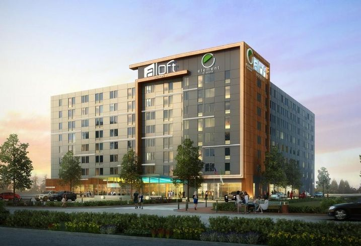 Just in time for Valentine's Day, Dallas-based Atlantic Hotels Group opened Aloft and Element Dallas Love Field hotel at 233 West Mockingbird Lane. The dual-branded hotel anchors Highridge Partners' 37-acre West Love development, which multifamily and 24k SF of retail.