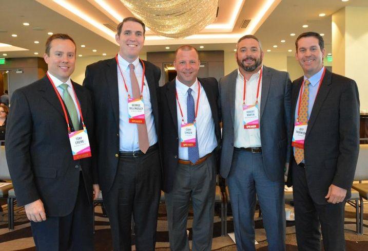 Tony Creme, George Billingsley, Cory Singer, Robert Martin and Jeff Thornton