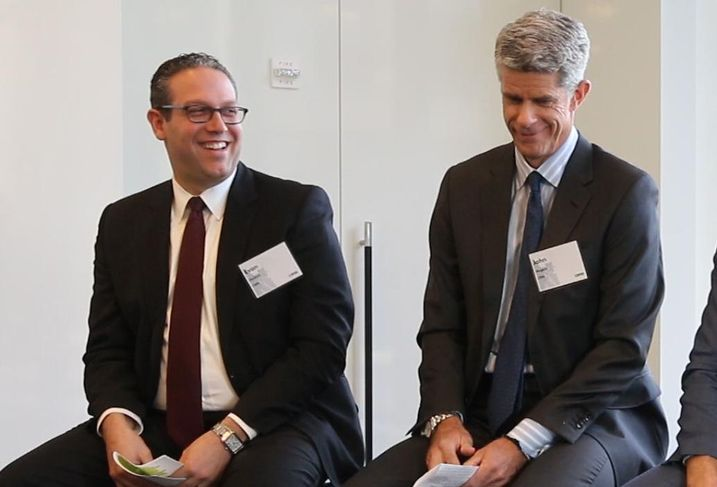 CBRE's Evan Haskell and John Nugent