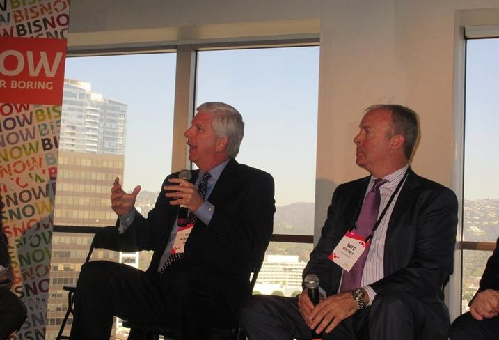 L.A. State of the Market:  CBRE managing director Patrick McRoskey and Wilson Meany director of development/retail Greg Whitney