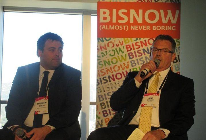 Rising Realty Partners SVP Matt Ahrens and Prologis President- Southwest Region Kim Snyder