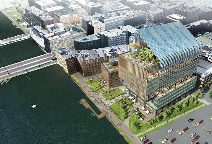 New GE HQ in Boston's Fort Point neighborhood