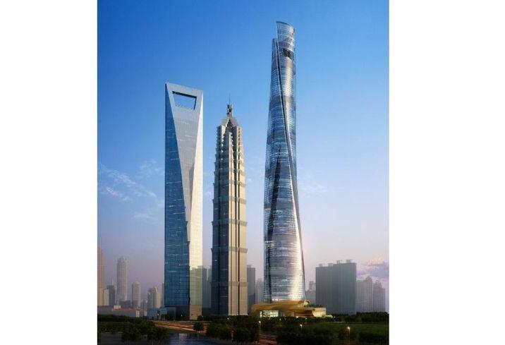 Shanghai Tower in Shanghai
