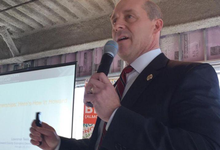 Howard County Economic Development Authority CEO Larry Twele