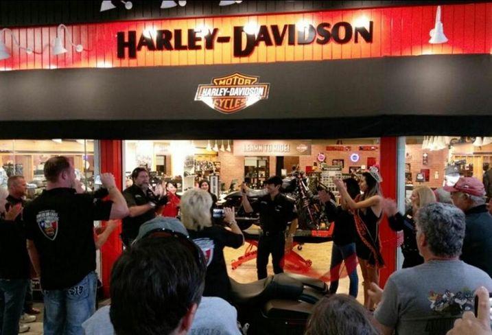 Harley-Davidson in Golden Triangle Mall in Denton