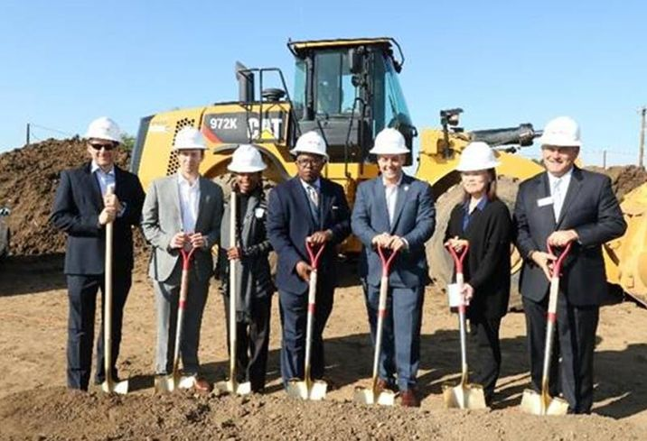Meta Housing SVP Aaron Mandel; Meta Housing President Kasey Burke; Deputy Director of Department of Mental Health Terry Boykins; LA County Supervisor Mark Ridley-Thomas; LA City Councilman Joe Buscaino; Consultant Mee Semcken; and Western Community Housing President Graham Espley-Jones are pictured from left to right at the recent groundbreaking event for the El Segundo Apartments and 127th Street Apartments.  Meta Housing senior vice president Aaron Mandel; Meta Housing president Kasey Burke; deputy director of Department of Mental Health Terry Boykins; LA County Supervisor Mark Ridley-Thomas; LA City Councilman Joe Buscaino; consultant Mee Semcken; and Western Community Housing president Graham Espley-Jones are pictured from left to right.