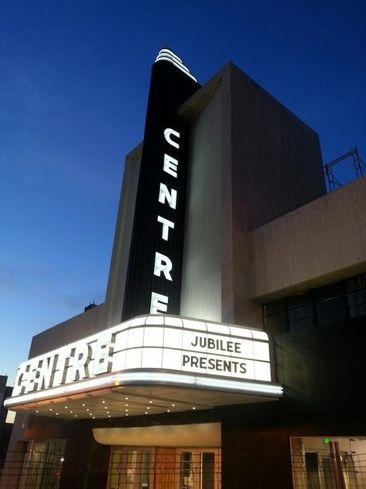 The redeveloped Centre Theatre on North Avenue