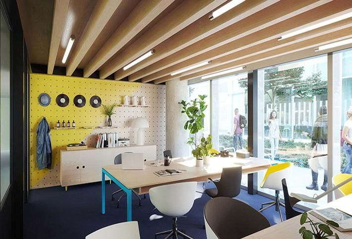 Huckletree West private office
