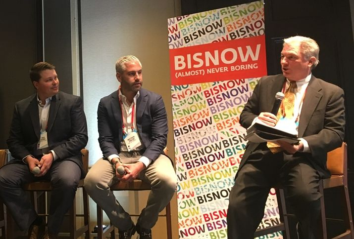Palisade Partners president Paul Brooks, BMC Investments CEO Matthew Joblon and Transwestern SVP Tom Wanberg, who moderated