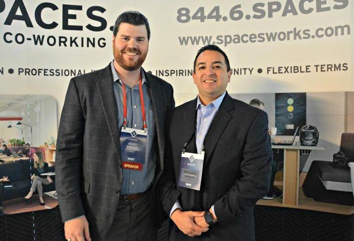 Spaces/Regus Brian Bingham and Michael Romero