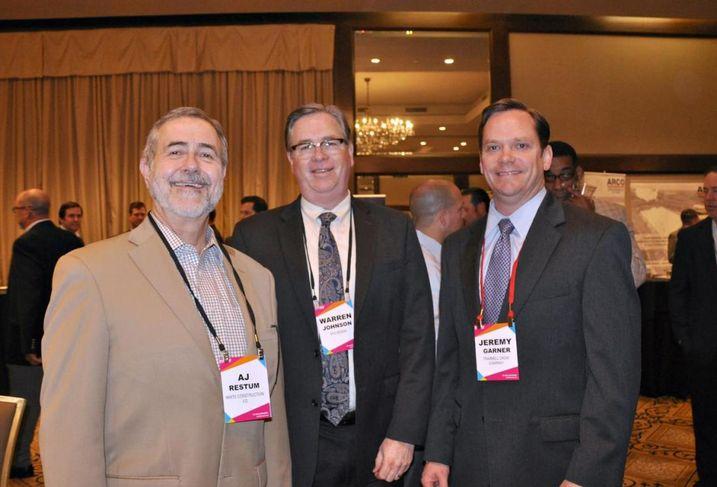 AJ Restum, Warren Johnson, Jeremy Garner
