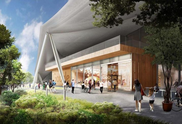 Google's First Ground-Up Development In Mountain View To Feature Canopy-Like Design