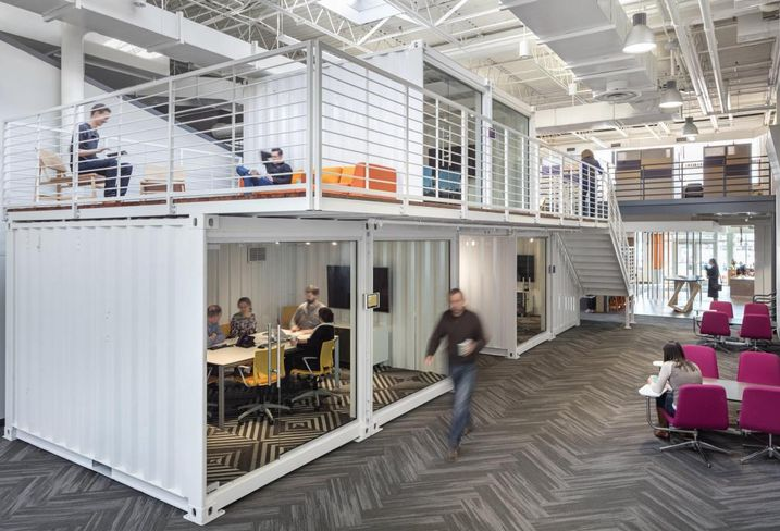 Cramer's Cool Shipping Container Office