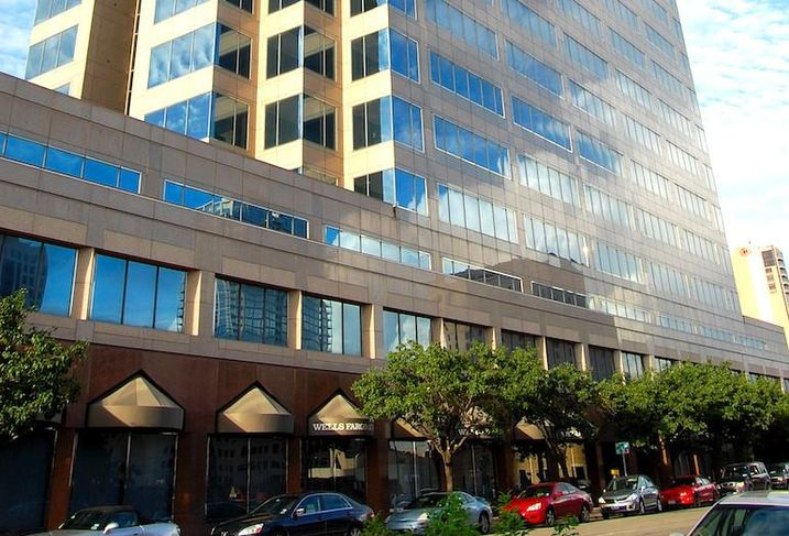 301 Congress in Austin, one of the buildings where the Bractlet platform is installed.