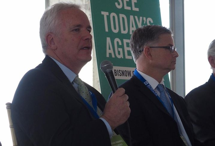 Foulger-Pratt chairman and managing principal Bryant Foulger at Bisnow's Tysons event on March 9, 2017
