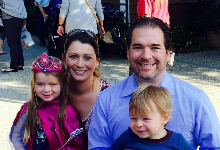 Pircher, Nichols and Meeks partner Alexis Alonzo and her husband, Chris Nilsen, and their kids Katie and Liam.