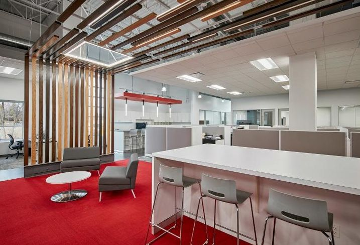 Morgan/Harbour Construction's new offices in Willowbrook, IL