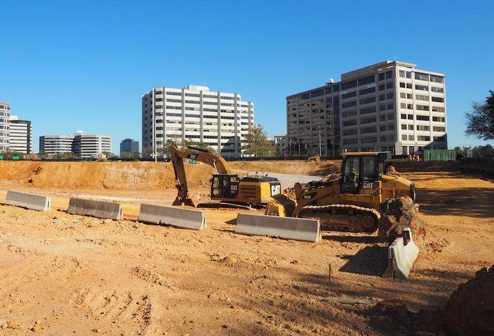 The Boro construction site