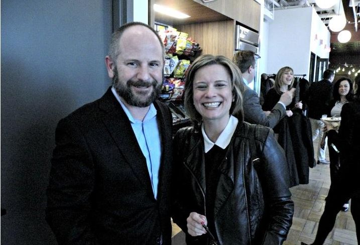 Conlon & Co. CEO Benjie Burford and CONLON/Christie's International Real Estate COO Melissa Archer-Wirtz
