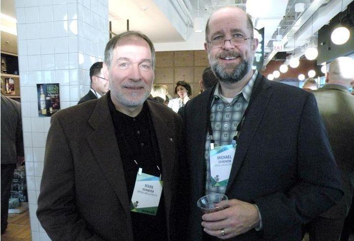 MRSA Architects' Mark Schaefer and Michael Semenzin