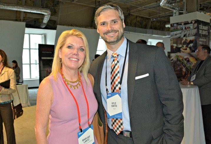 Billingsley senior vice president Marijke Lantz and View's kyle smith