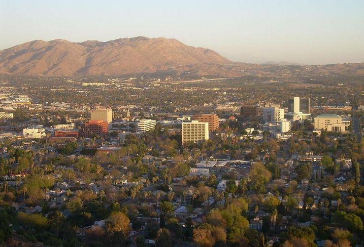 Riverside Cali Skyline