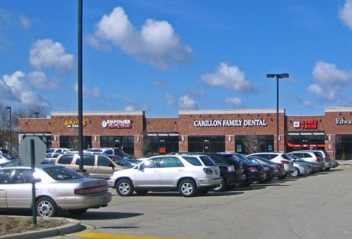 Carillon II shopping center, Romeoville, IL