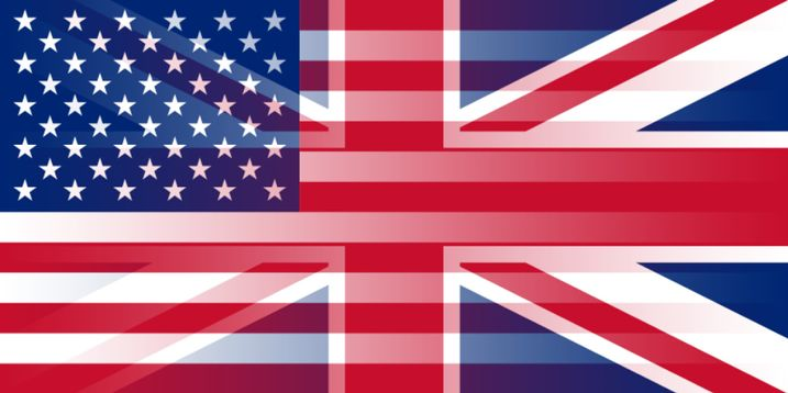Blend of the UK and U.S. flags
