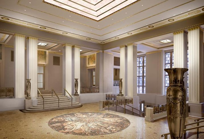 Waldorf Astoria Foyer