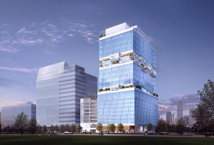 11 Biggest Spec Office Buildings Under Construction In DFW