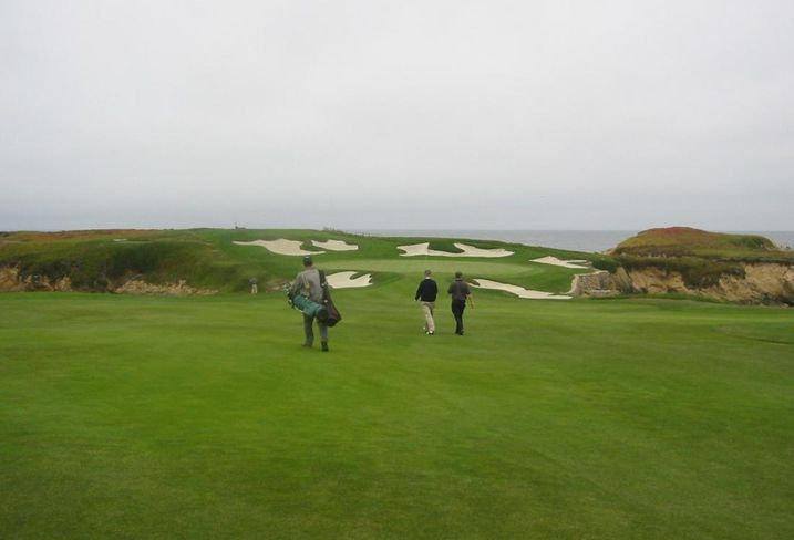 Cypress Point Golf Course, walk to the 16th hole