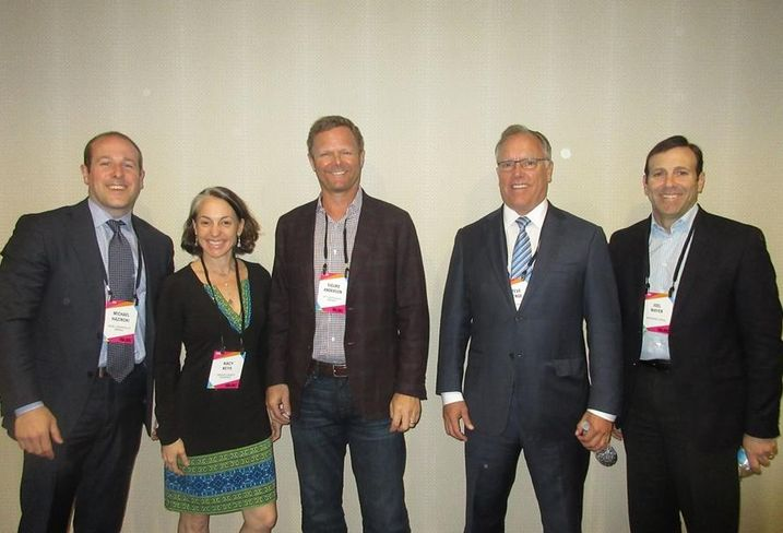 Bisnow National Retail West Event  Retail Acquisitions & Investments Panel  RPAI's Michael Hazinski, Seritage Growth Properties' Kacy Keys, City Center Realty Partners' Sigurd Anderson, Pacific Retail Capital Partners' Steve Plenge and Rockwood Capital's Joel Mayer.