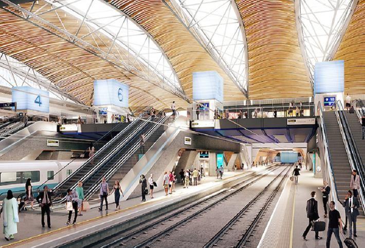 HS2 Platform at Euston